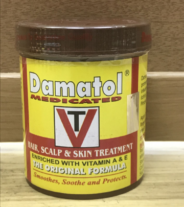 Damatol Medicated Hair & Skin Treatment - 250g